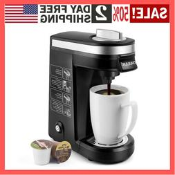 CHULUX 12 Ounce Single Serve Coffee Maker Brewer for  Capsul