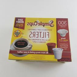 Disposable Filters for Use in Keurig Brewers- 300 Replacemen