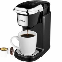 AICOK Coffee Machines Single Cup Maker, Serve Brewer