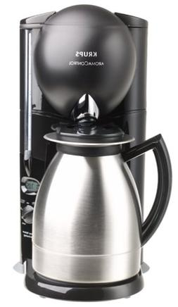 Krups 229-4G Aroma Control 10-Cup Coffeemaker with Thermal C