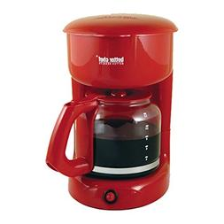 Better Chef 12-cup Red Coffeemaker - 1 Year Direct Manufactu