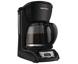 Black & Decker DLX1050B 12-Cup Programmable Coffeemaker with