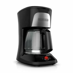 BLACK+DECKER 5-Cup Coffeemaker with Duralife Glass Carafe, B