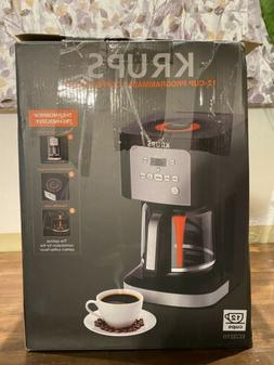 KRUPS EC321050 Thermobrew Programmable Coffee Maker, 12-Cup,