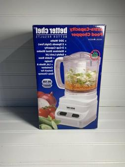 Better Chef Extra Capacity Food Chopper BRAND NEW!!!