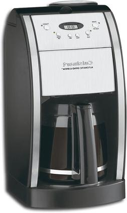 Grind and Brew, Coffee Maker with Grinder, Automatic Machine