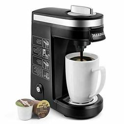 K Cup Single Serve Coffee Maker Black Machine Brewer Automat