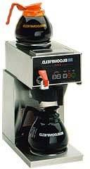 Bloomfield 1040D2F E.B.C Coffee Brewer, Automatic, Two Warme