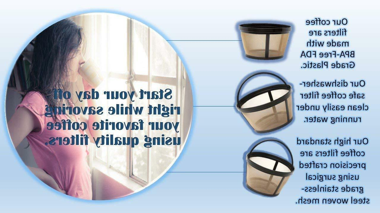 Water Filter for Coffee Machines + Reusable Coffee Filter