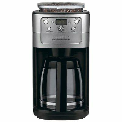 Cuisinart Grind Brew 12-Cup Automatic Coffee Maker, Black