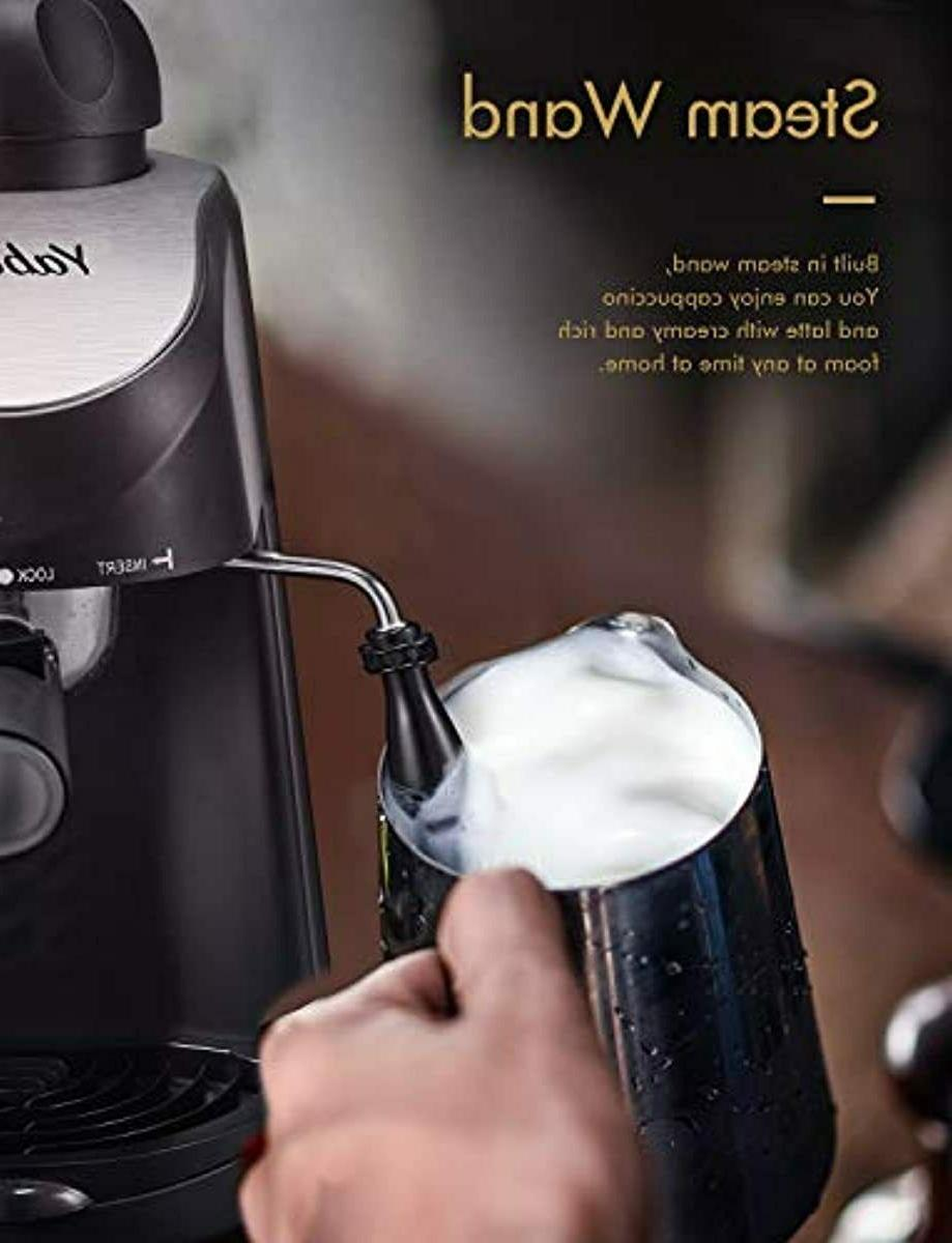 Espresso 3.5 Coffee with Milk Frother Steamer