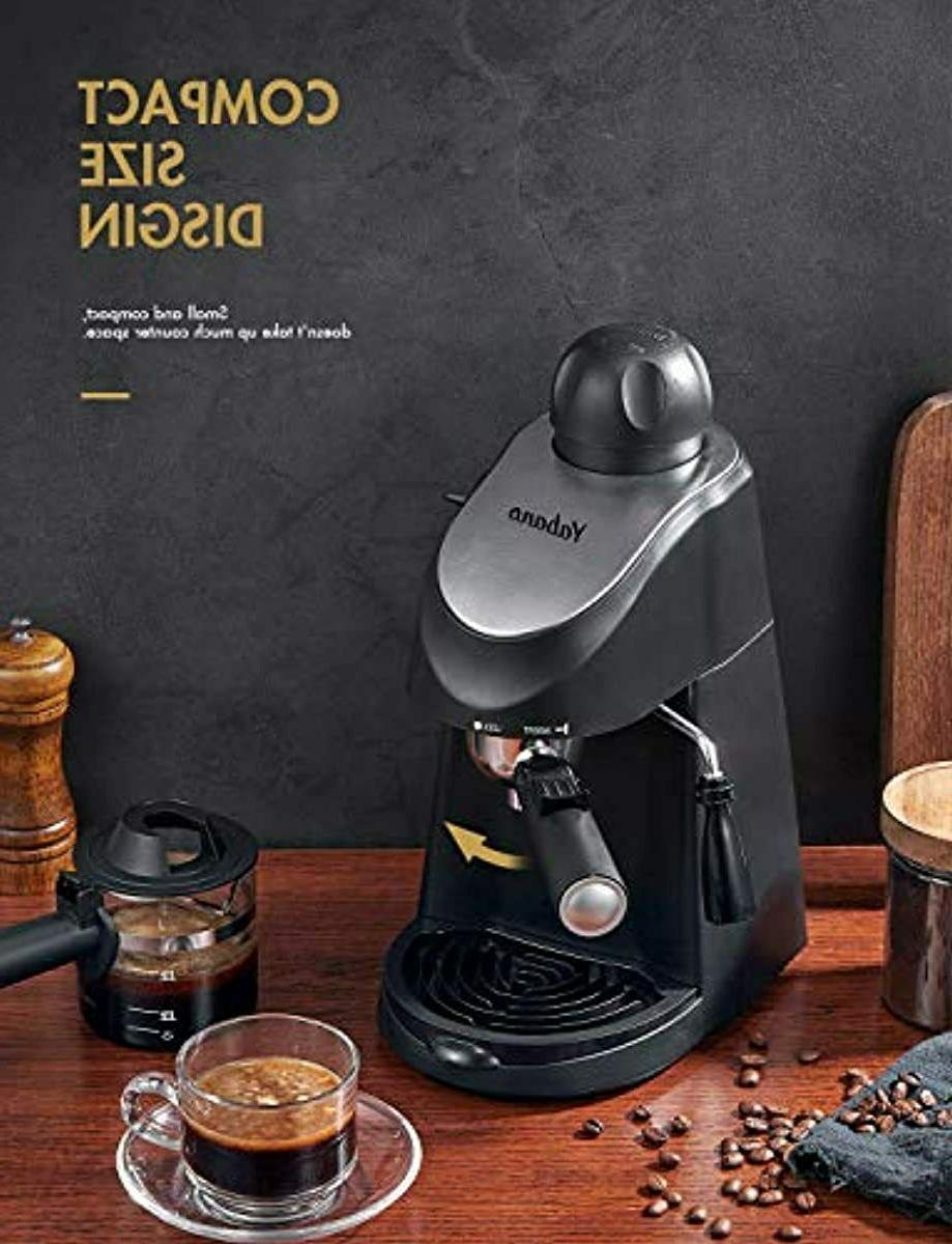Espresso 3.5 Coffee Maker with Milk Frother Steamer