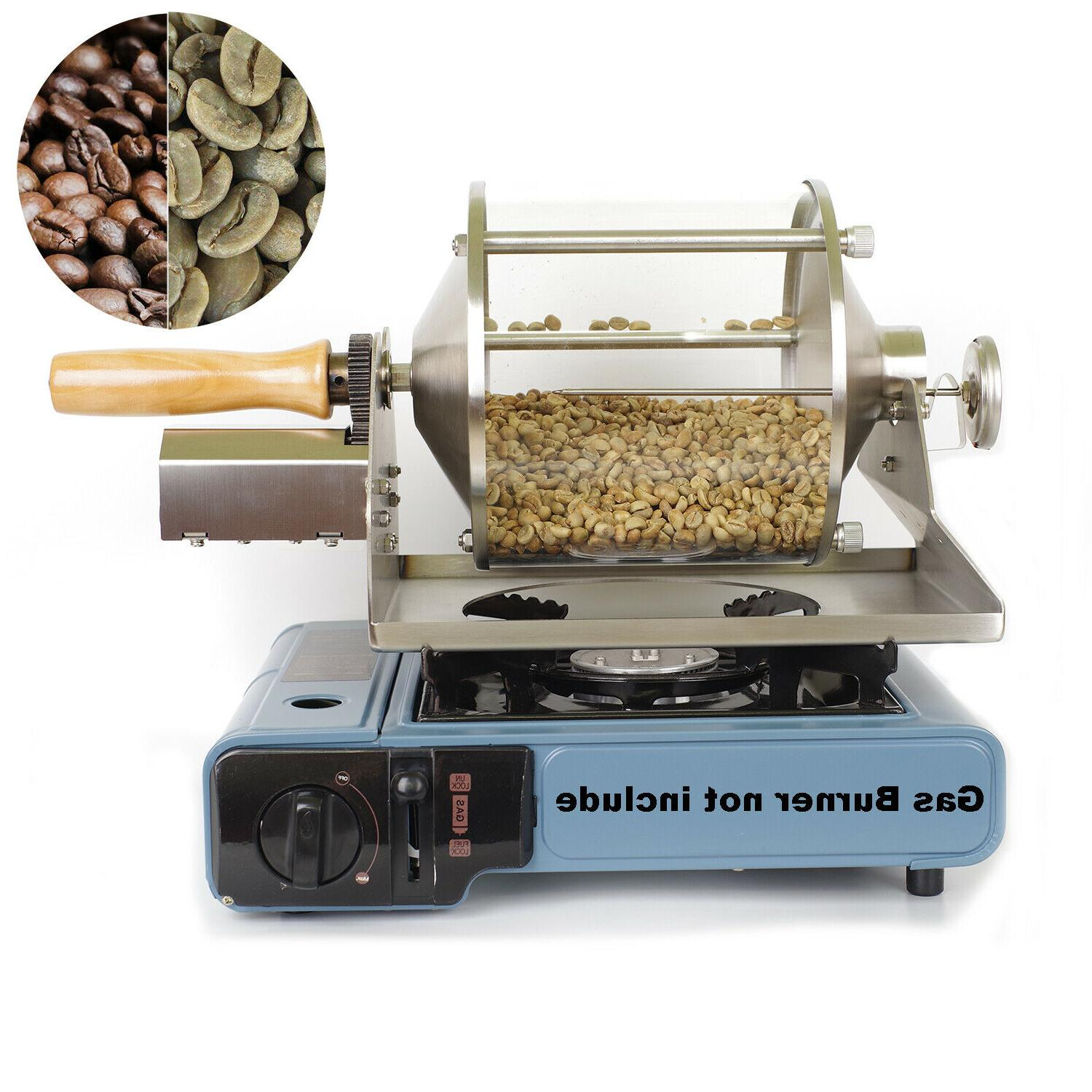 home coffee roaster kitchen stove coffee bean