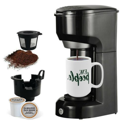Single Serve Coffee Small K-Cup Brew Pod Brewer Space Saving