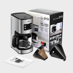 KYG Machine of Coffee maker Dripping with Timer filter Reuse