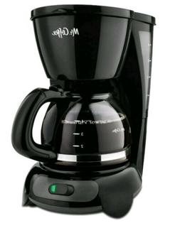 Mr. Coffee 4-Cup Switch Coffee Maker - Black -New - FREE FAS