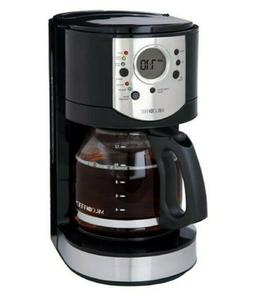 Mr. Coffee CJX21CP 12-Cup Programmable Coffee Maker, New in