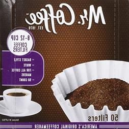 Mr. Coffee 8-12 Cup Coffee Filters 50 Pack