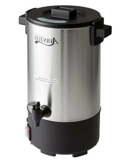 New Avantco 30 Cup Electric Coffee Maker Stainless Steel Bre