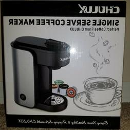 NEW~CHULUX Single Serve Coffee Maker for K cup,Stainless Ste
