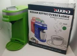 NEW CHULUX Single Serve Coffee Maker with Removable Drip Tra