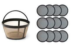 Water Filter Disks for Mr. Coffee Machines + Reusable Baske