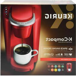 Red K-Cup Pod Coffee Maker Space Saver Compact Home Single S