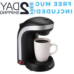 Single Cup Coffee Maker Personal One Serve Drip Brewer Machi