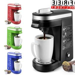 Single Cup Serve Coffee Maker Capsule with 12 Ounce Reservoi