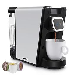 CHULUX Single Pod Coffee Brewer Maker for Capsule or Ground