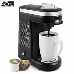 CHULUX Single Serve Coffee Maker Brewer for K Cups with 12 O