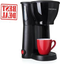 Single Serve Coffee Maker Cup Machine Pod Size Compact Green