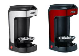 Single Serve Coffee Maker K Cup Machine Pod Size Compact Red