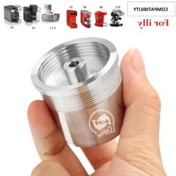 Stainless Steel Coffee Capsule Refilled For illy iperEspress