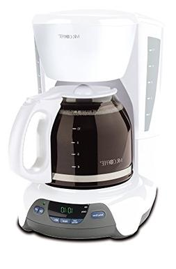 Mr. Coffee VBX20 Coffee Maker - 12 Cup - White